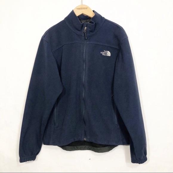 6e7990199 North Face TNF Men's Windwall Fleece Jacket Navy